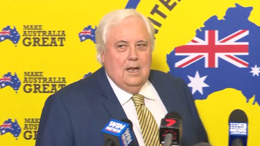 If it can happen Clive Palmer, it can hapen to any of us.