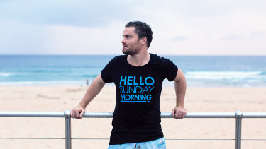 Hello Sunday Morning founderChris Raine. The organisation will get a $1.5 million funding boost.