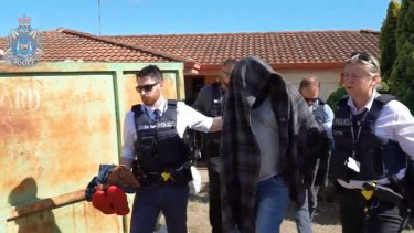 The man was arrested by police on Friday.