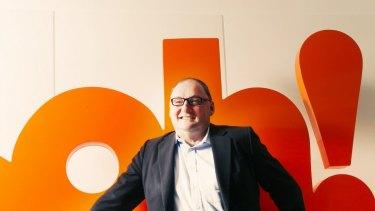 OohMedia chief executive Brendon Cook.