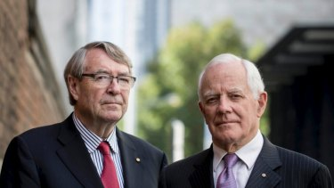 Former judges Stephen Charles and David Harper are signatories to a letter calling for an end to delays in establishing a federal anti-corruption watchdog.