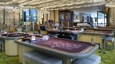 Crown's Mahogany Room, where gamblers can place $300,000 bets.