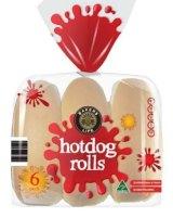 Metal shavings were detected inside Aldi's hot dog rolls.