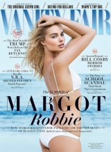 Margot Robbie on the cover of <i>Vanity Fair</i>.
