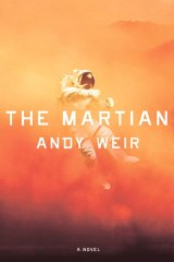 Andy Weir's self-published novel, <i>The Martian</i>, which inspired the film.