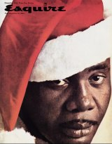 George Lois's Esquire cover from the 1960s shows boxer Sonny Liston as a black Santa.