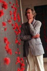 Inglis at the Australian War Memorial, 1998.
