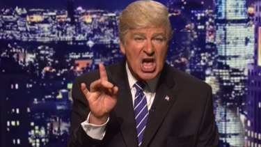 """Alec Baldwin has made a """"uge'' impression with his impersonation of Donald Trump."""