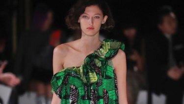 Stella McCartney's show at Paris Fashion Week.