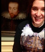 Tag, I'm it: ''How embarrassing, Shakespeare and I are wearing the same thing!''