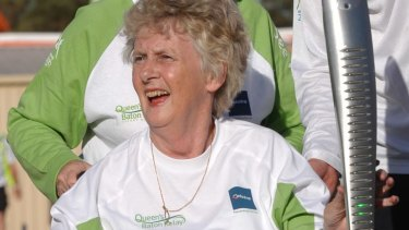 Olympic gold medalist Betty Cuthbert in 2006.