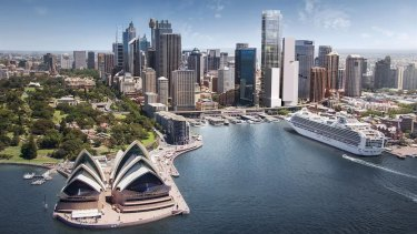 Lendlease's Circular Quay precinct on George and Pitt streets includes what could become Sydney's tallest office tower.