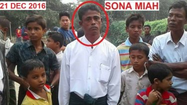 A picture of Sona Mia taken on December 21, just hours before he was allegedly abducted and beheaded.