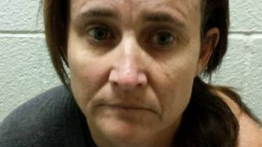 A mugshot of Australian Kirsten Wallace following her arrest in US on significant fraud matters.