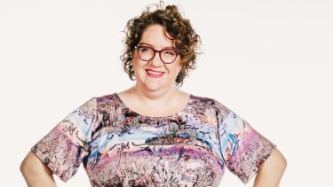 Faced with a lack of clothing for larger women, Erin Cox started the A-Plus Market in Melbourne.