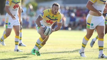 Canberra Raiders hooker Josh Hodgson has been compared to Kangaroos captain Cameron Smith.
