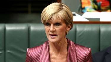 Clamp-down: Julie Bishop has announced a new strategy to deal with people who make unreasonable consular assistance requests.