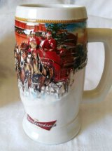 Tez is selling this festive beer stein from the US. She doesn't drink so is puzzled why it was given to her.