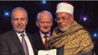 AFIC President Hafez Kassem (L) with Phillip Ruddock
