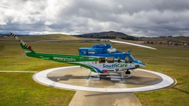 The ACT's Snowy Hydro SouthCare rescue helicopter is entirely government-funded.