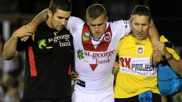 Cameron King's bad run with injuries has stymied his NRL career.