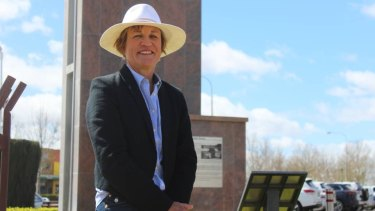 Helen Dalton, candidate for the Shooters, Fishers and Farmers in the byelection for the seat of Murray.