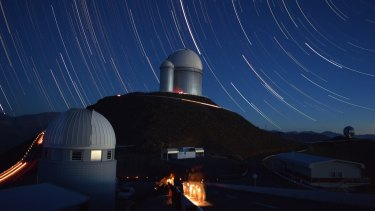 The European Southern Observatory at La Silla, Chile.