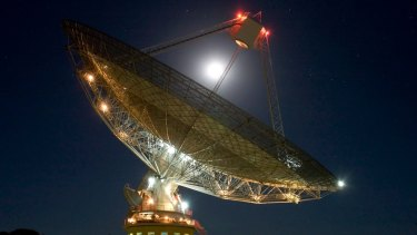 CSIRO's Parkes radio telescope detected a molecule that suggest life exists outside of earth.