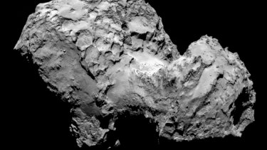Comet-chasing spacecraft Rosetta has finally arrived at Comet 67-P