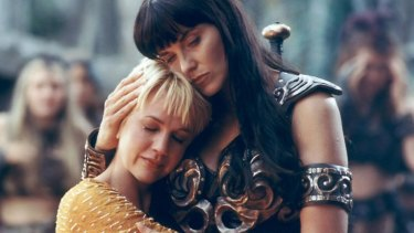 The pair became lesbian icons.