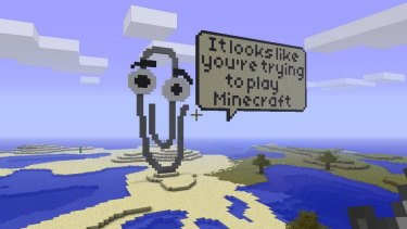 Tributes to Mojang founder Notch have been cropping up around the world of Minecraft, but so have various visual protests and commentaries.