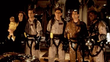 Get your hands off our movie: The original Ghostbusters.