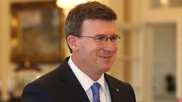 Co-payment scrapped? Frontbencher Alan Tudge says so.