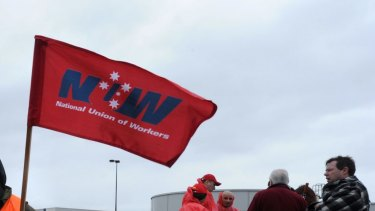 The National Union of Workers is now conducting audits of the work conditions and pay of charity collectors.
