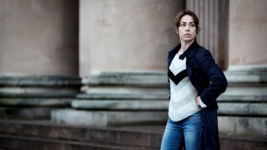 Sofie Grabol as Sarah Lund in <i>The Killing</i>.