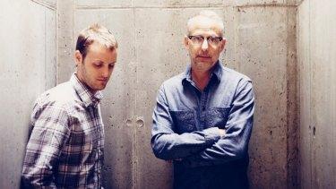 Zac Stuart-Pontier (left) andproducer Marc Smerling.