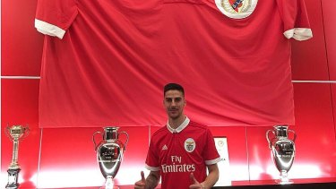 Australian striker Anthony Carter joins Portuguese giants, Benfica from third tier club, Trofense.