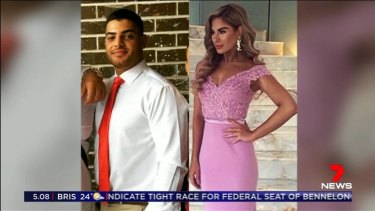 John Ibrahim's nephew, Sam Sayour, was set to marry Aisha Mehajer, the sister of Salim Mehajer.