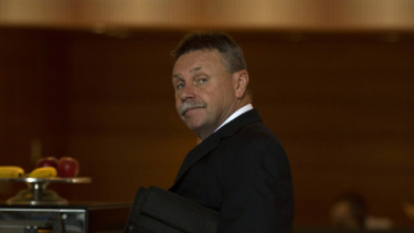 Sacked: Parramatta chairman Steve Sharp.