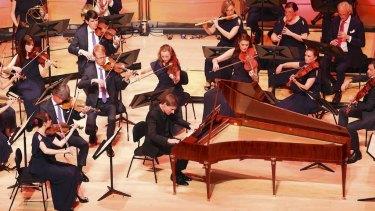 Kristian Bezuidenhout was guest director of the Australian Brandenburg Orchestra's Mozart's Fortepiano concert.