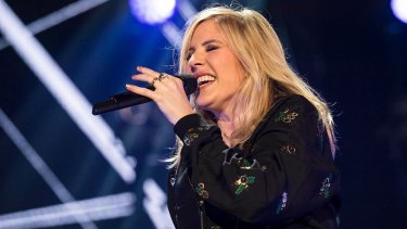 Ellie Goulding, pictured here performing in 2015, was among the artists at this year's Bravalla Festival.