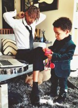 """Kanye got personal when he claimed to """"own"""" Wiz and Amber's son, Sebastian, two."""