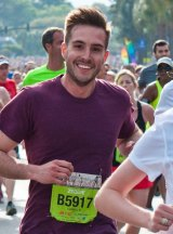 """Zeddie Little: the """"ridiculously photogenic"""" runner who became a meme."""