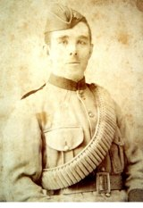 Norman (Scotty) McLeod, one of the 42 men from Condah, Victoria, who went off to World War I.