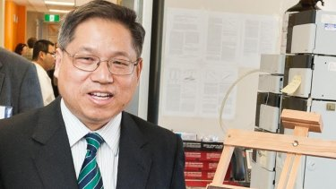 Professor Greg Jiao is Shu Lam's PhD supervisor.