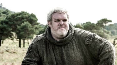 Kristian Nairn, who played Hodor (pictured) in <i>Game of Thrones</i>, is DJing at the Enmore Theatre on October 22.