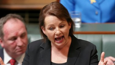 Lucky for Ms Ley the news broke in the silly season so she won't face a grilling in Parliament.
