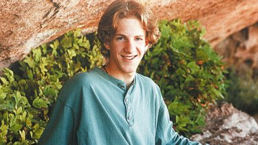 Dylan Klebold, one of the two students who shot and killed 12 classmates and a teacher before killing themselves at Columbine High School in Littleton, Colorado.