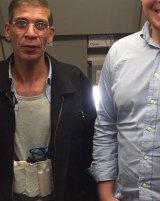 Seif Eldin Mustafa, left, has been identified as the hijacker of EgyptAir flight MS181 by broadcasters.