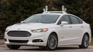 Testing continues on Ford's driverless vehicles, including across Silicon Valley in the US.